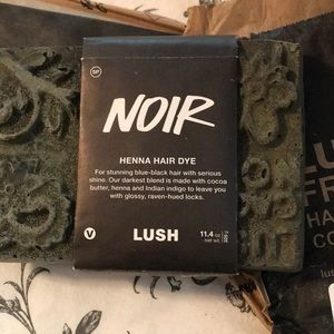 Lush Other Cosmetics Caca Noir Natural Henna Hair Dye Poshmark